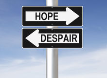 hope-despair-conceptual-one-way-street-signs-34445477